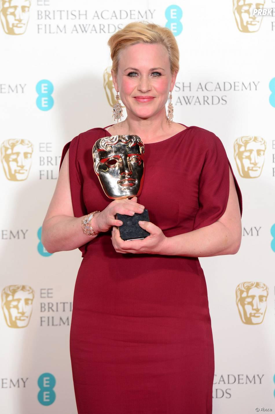 Patricia Arquette gagnante aux BAFTA 2015