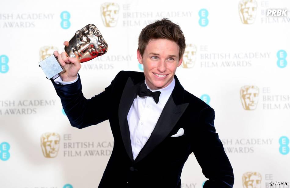 Eddie Redmayne gagnant aux BAFTA 2015