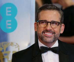 Steve Carrell sur le tapis-rouge des BAFTA le 8 février 2015 à Londres