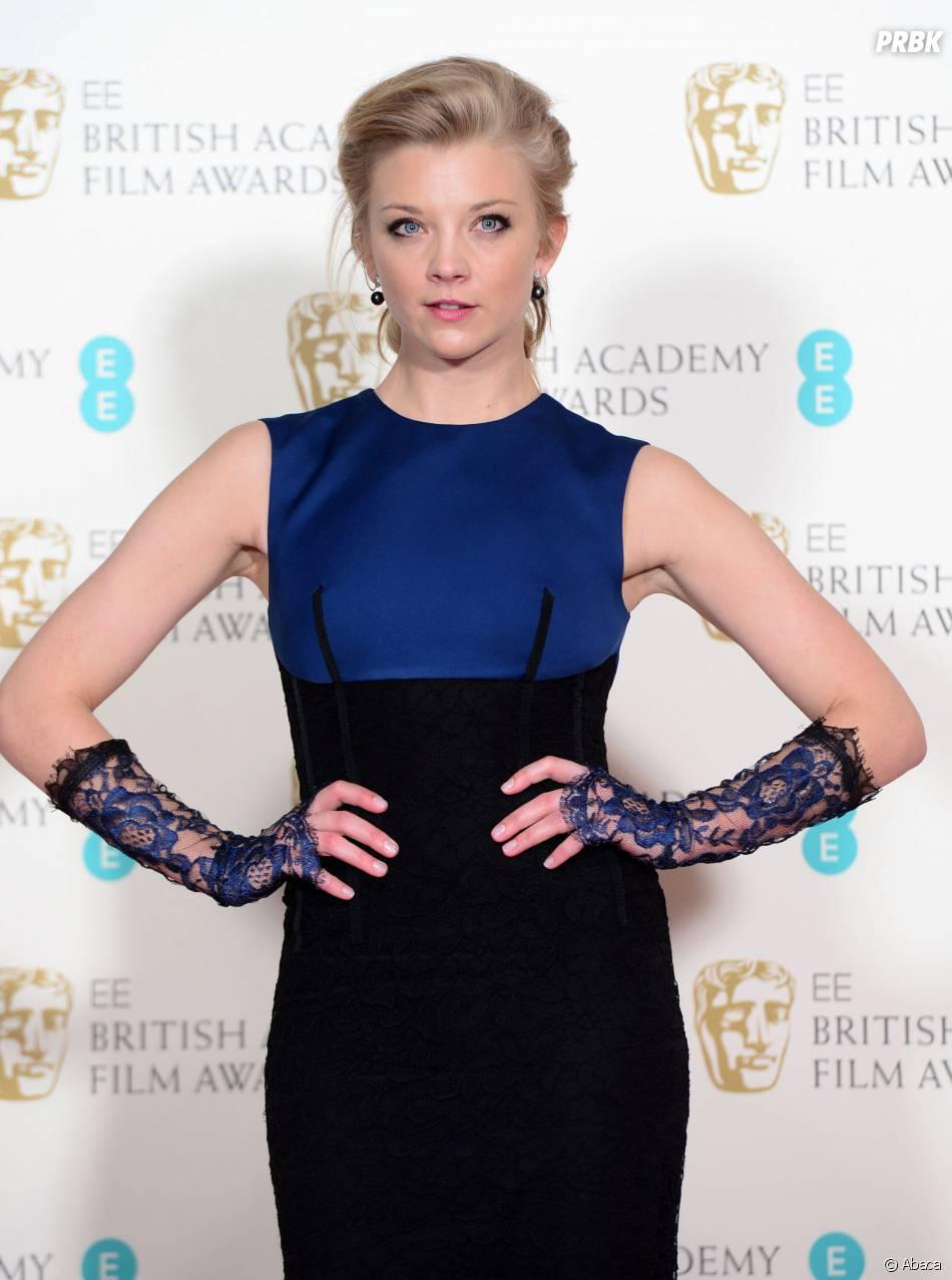 Natalie Dormer sur le tapis-rouge des BAFTA le 8 février 2015 à Londres
