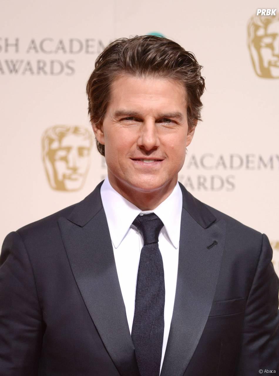 Tom Cruise sur le tapis-rouge des BAFTA le 8 février 2015 à Londres