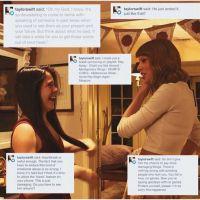 Taylor Swift adorable : elle console une fan plaquée par son mec