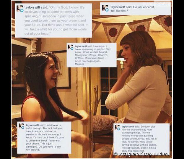 Taylor Swift : des messages pour consoler une fan sur Tumblr