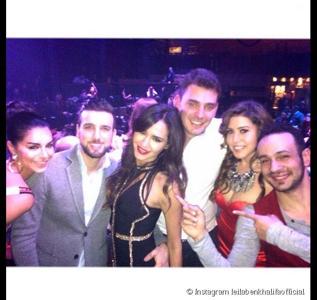 Leila Ben Khalifa : soirée d'anniversaire avec l'équipe de Danse avec les stars Liban