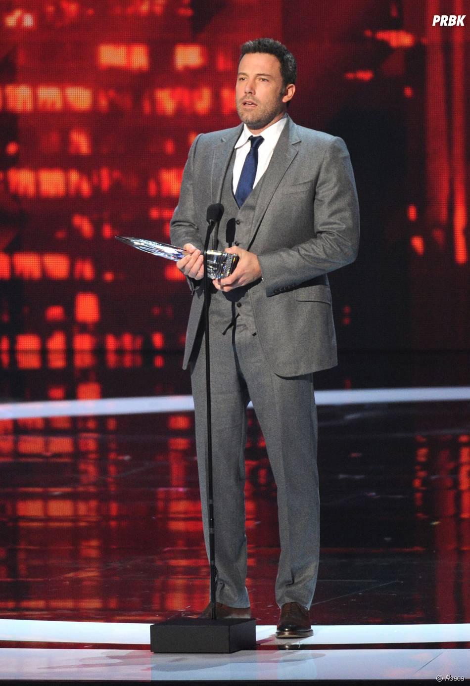 Ben Affleck, gagnant du prix de la rédemption aux Razzie Awards 2015, le 21 février 2015