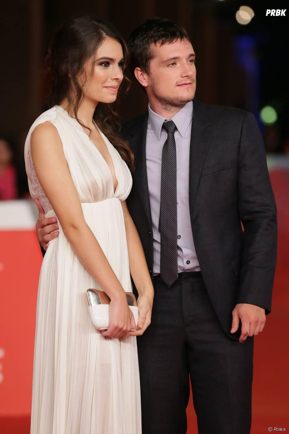 Josh Hutcherson et Claudia Traisac complices sur le tapis rouge de Paradise Lost