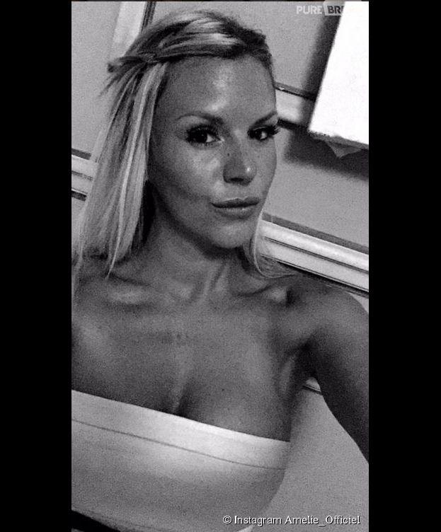 Amélie Neten : selfie depuis le tournage des Anges 7 au Brésil