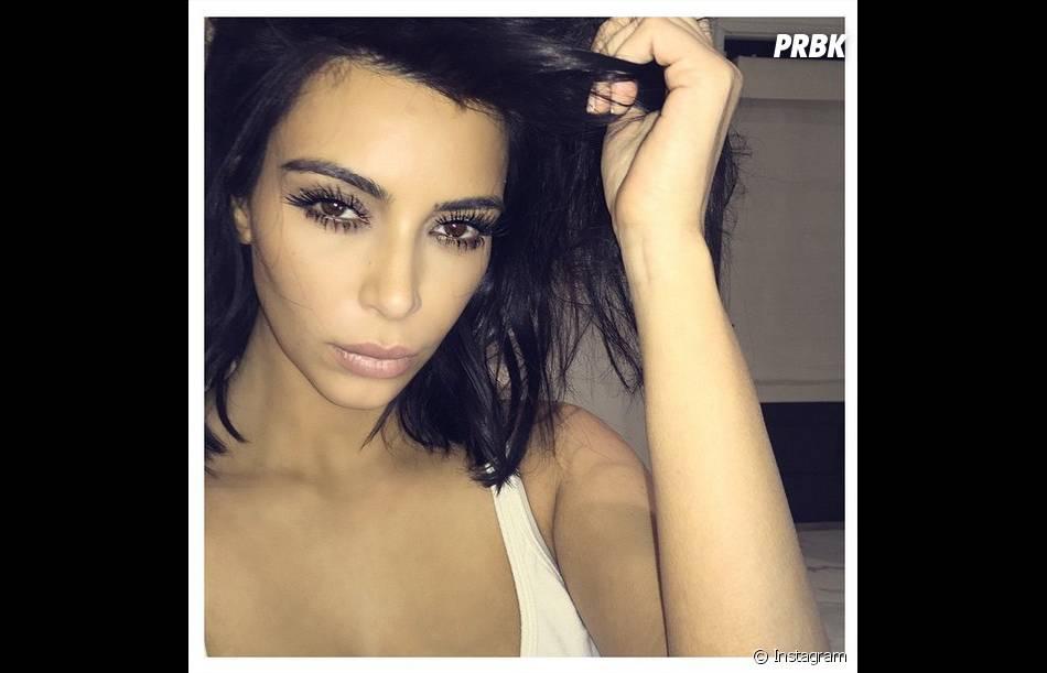 Kim Kardashian toujours sexy sur Instgram