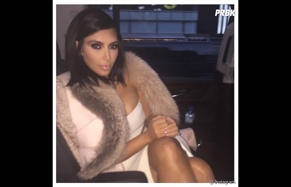 Kim Kardashian toujours aussi sexy sur Instagram