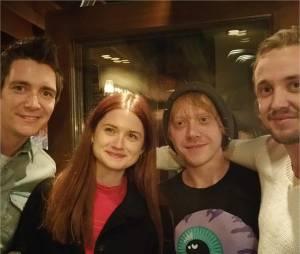 Harry Potter : Rupert Grint, Tom Felton, Bonnie Wright et James Phelps se retrouvent à Los Angeles le 6 mars 2015
