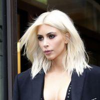 Kim Kardashian : blonde et sexy, elle sort THE décolleté dans les rues de Paris