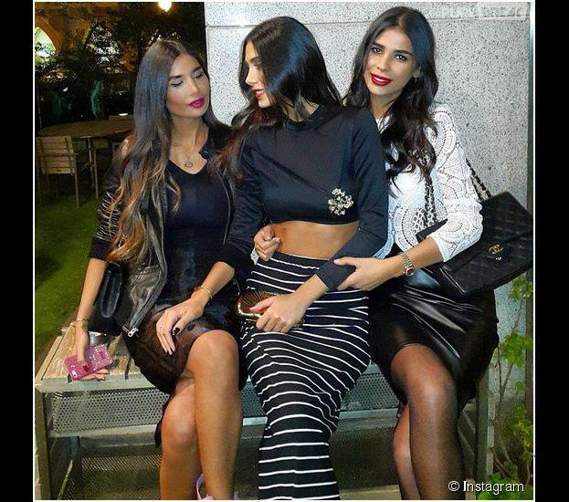 Nadine, Alice et Farah Abdel Aziz : trois soeurs sexy qui font le buzz au Moyen-Orient
