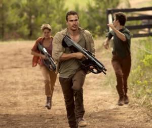 Divergente 2 : Tris, Quatre et Caleb en fuite