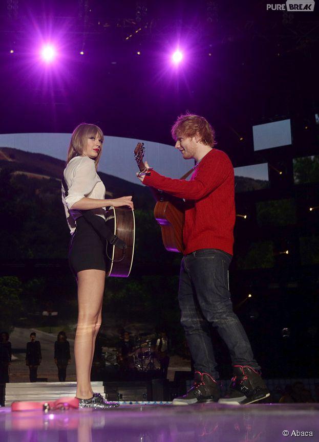 Ed Sheeran : sa petite-amie trop jalouse de Taylor Swift ?