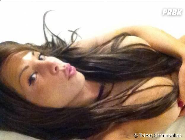 Kim topless sur Twitter
