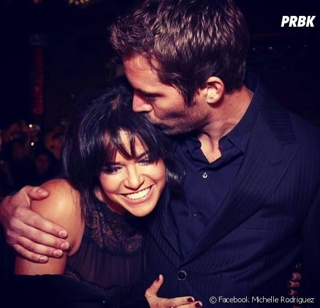 Michelle Rodriguez et Paul Walker : photo complice sur Facebook