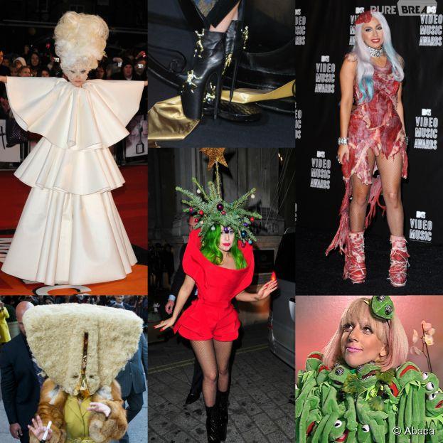 Lady Gaga, reine des looks les plus extravagants
