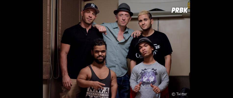 Franck Gastambide, Gad Elmaleh et Malik Bentalha sur le tournage de Pattaya en Thaïlande