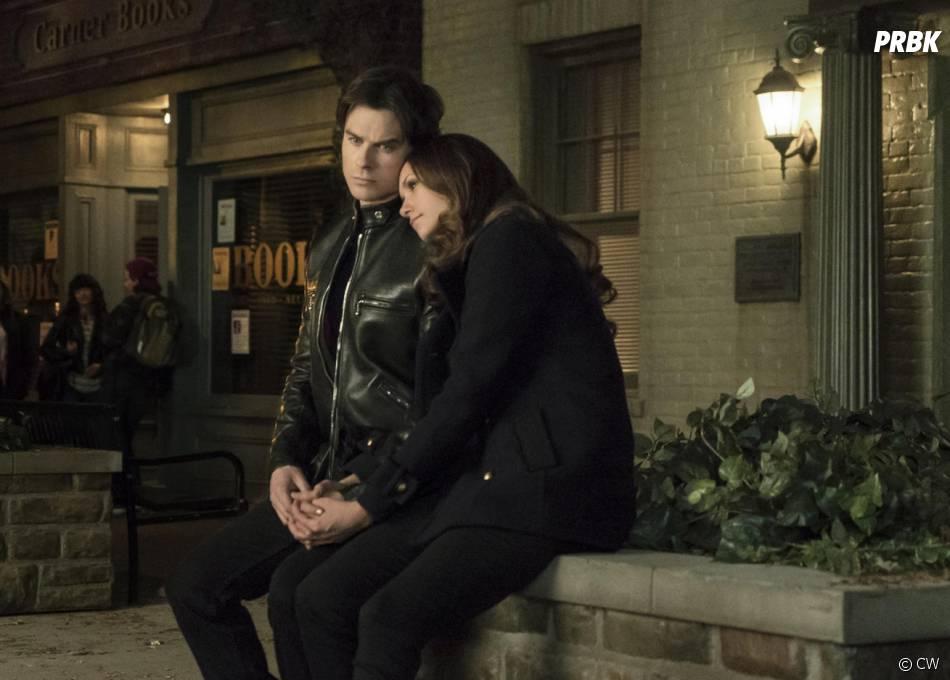 The Vampire Diaries saison 6 : fin du couple Damon/Elena ?