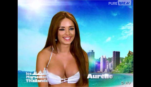 Aurélie (Les Marseillais en Thaïlande) sous le charme de Jordan, dans l'épisode 32 du 13 avril 2015 sur W9
