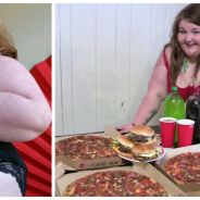 Choquant ? Calico Bombshell : 22 ans, 180 kilos et payée pour... s'empiffrer en direct !