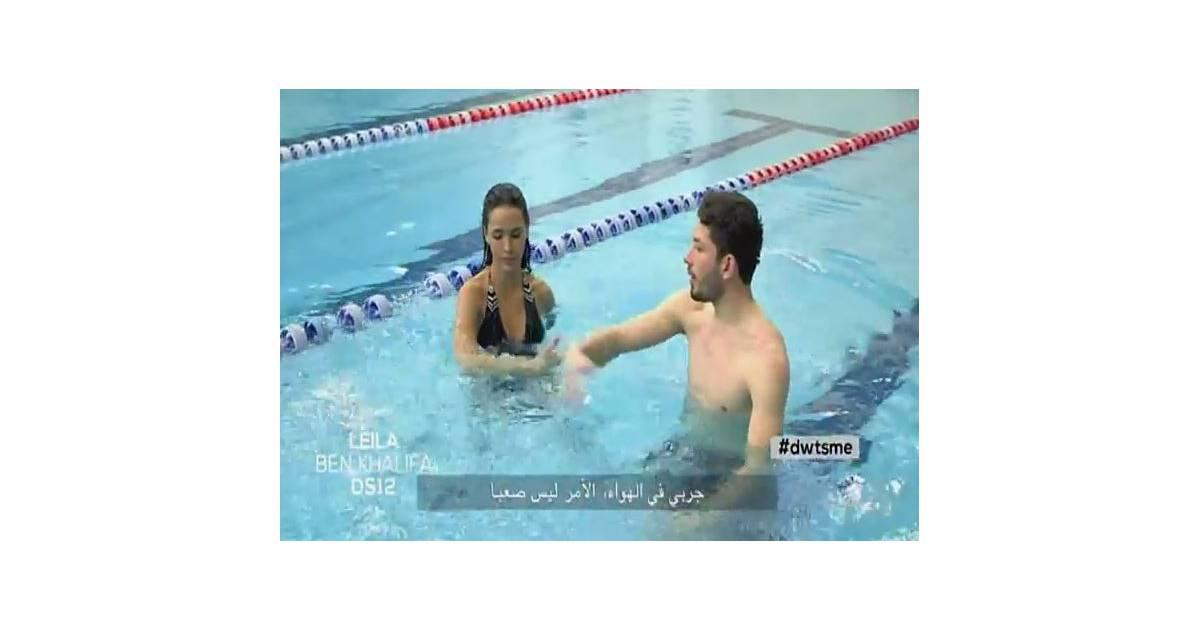 Leila ben khalifa la piscine pour ses entra nements for Article pour piscine