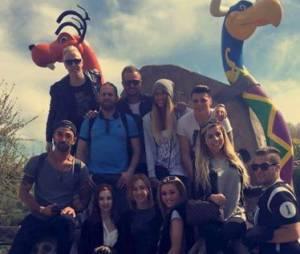 Les Ch'tis : Gaëlle, Hillary, Jo, Bilal, Sophie, Geof et Jérémy se retrouvent au Parc Astérix, le 20 avril 2015