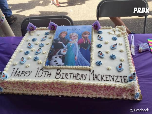 Photo postée par Jessica Griffith Dennis sur la page publique Facebook Mackenzie's Birthday Party.