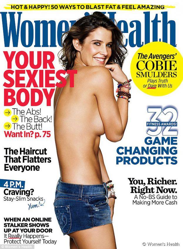 Cobie Smulders topless pour le magazine Women's Health : l'actrice d'Avengers révèle avoir été opérée à plusieurs reprises de tumeurs aux ovaires