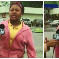 Epic FAIL : elle se fait pipi dessus en direct en pleine interview !