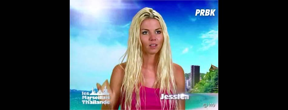 Jessica (Les Marseillais en Thaïlande) dans l'épisode du 24 avril 2015 sur W9