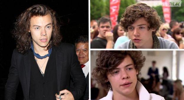 Harry Styles : 2010-2015, l'étonnante évolution capillaire du chanteur