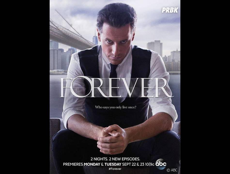 Forever saison 1 : l'affiche avec Ioan Gruffudd
