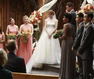 Grey's Anatomy saison 10 : April et Matthew lors de leur mariage avorté dans l'épisode 12
