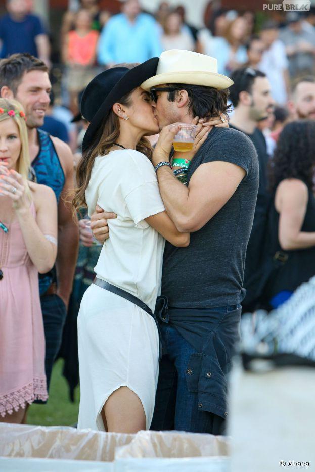 Ian Somerhalder et Nikki Reed mariés devant les acteurs de The Vampire Diaries