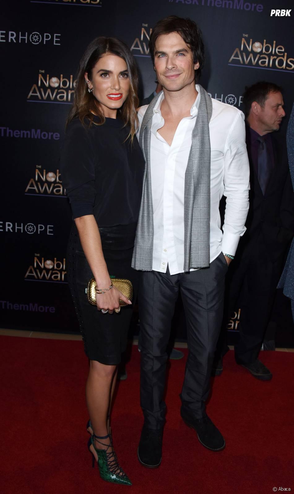 Ian Somerhalder et Nikki Reed en couple aux Noble Awards, le 27 février 2015 à Los Angeles