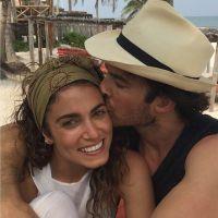 Ian Somerhalder et Nikki Reed : photo romantique de leur lune de miel
