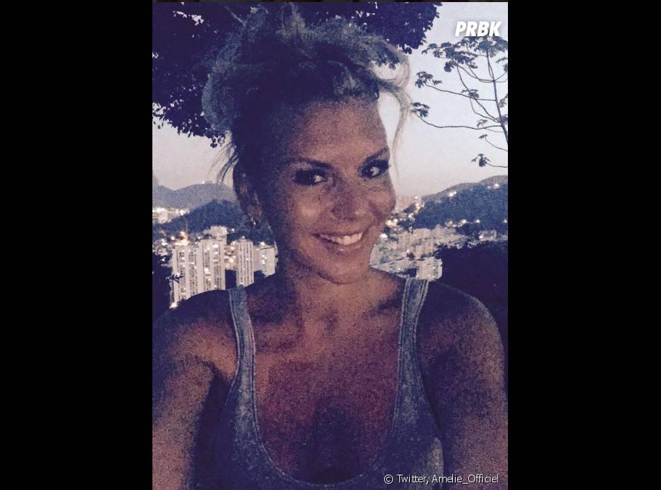Amélie Neten : selfie en direct de Rio, le 1er mars 2015