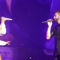 Kendji Girac s'invite sur scène au Zénith de Paris pour le concert d'Ariana Grande