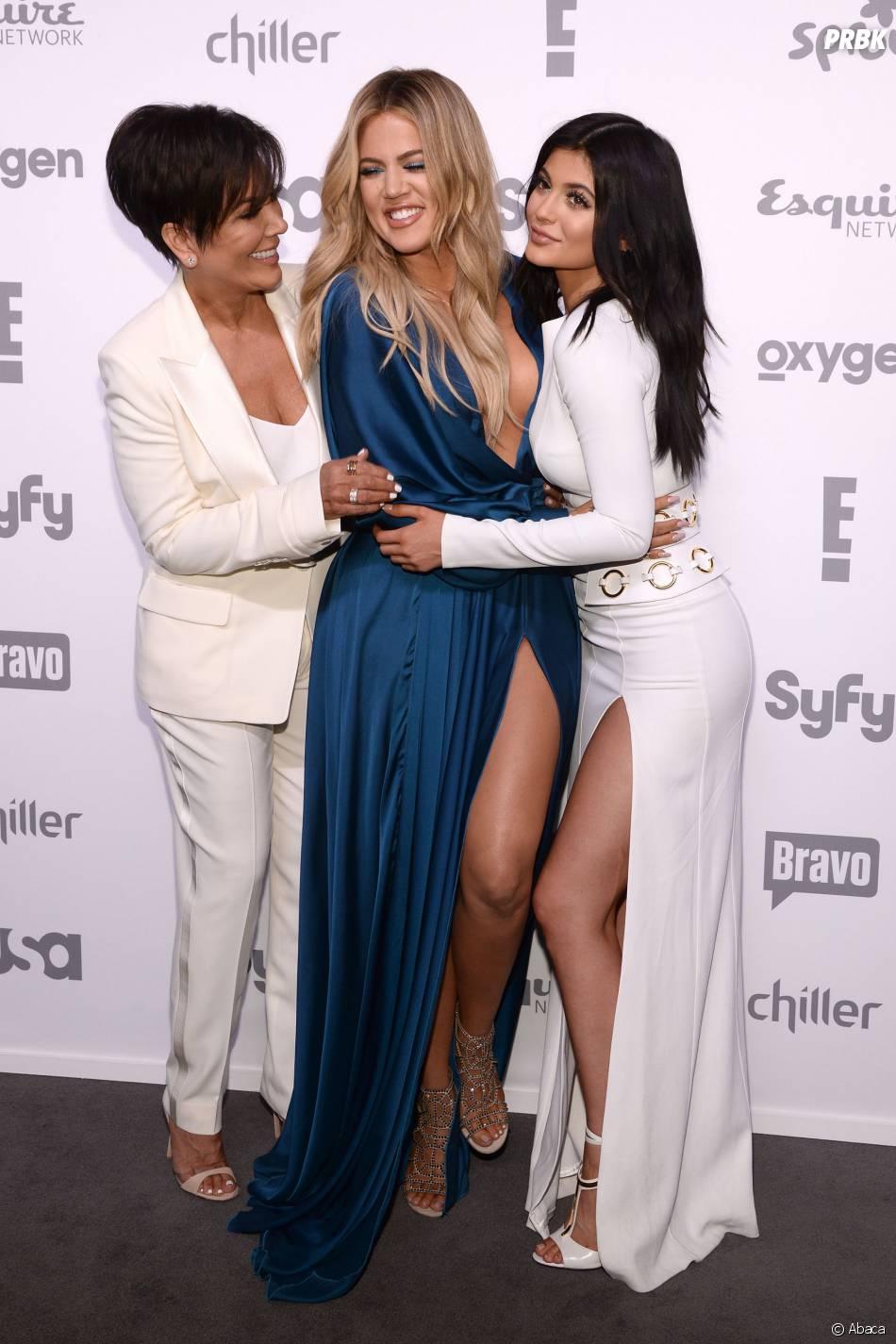Kylie Jenner, Khloe Kardashian et Kris Jenner : trio sexy, le 14 mai 2015 à New York