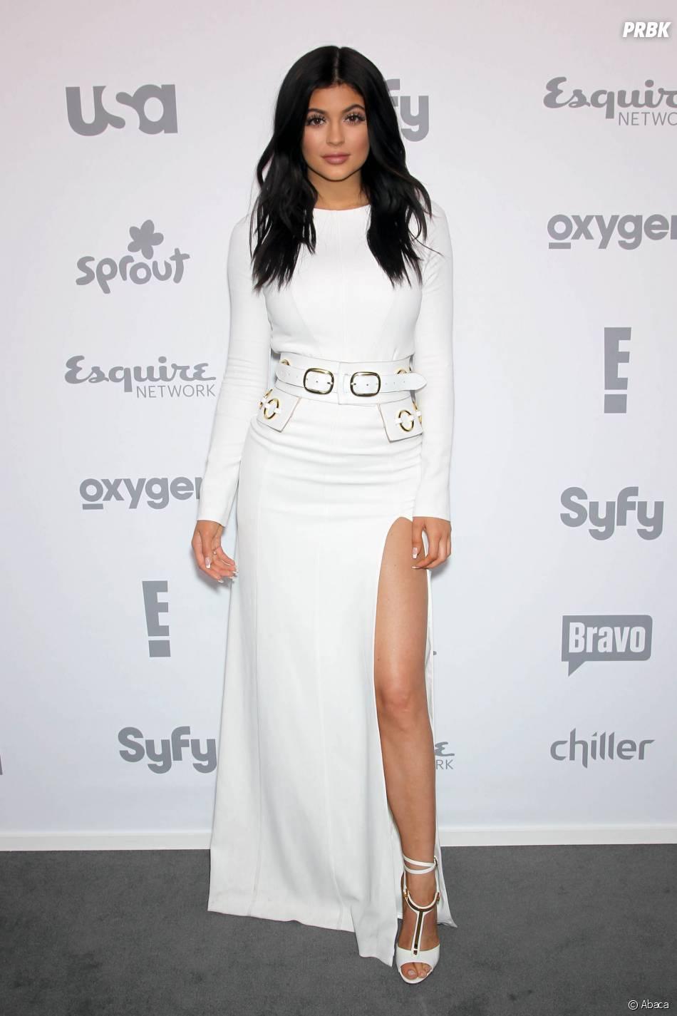 Kylie Jenner sexy à l'Upfront du groupe NBC Universal Cable, le 14 mai 2015 à New York
