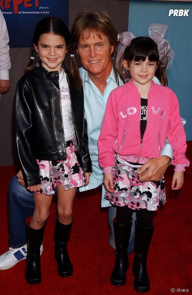 Kylie Jenner, Kendall Jenner et Bruce Jenner en 2004