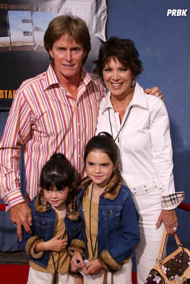 Kylie Jenner, Kendall Jenner et leurs parents en 2003