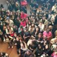 Les Anges 7 : foule lors de la séance de dédicaces au Barrio Latino, le 26 mai 2015