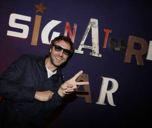 Nasty à la soirée d'ouverture du bar Signature by Grants à Paris, le 26 mai 2015