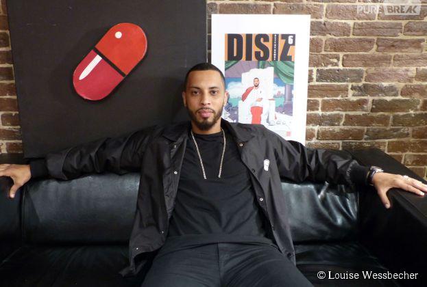 """Disiz en interview pour Purebreak pour la sortie de son 10e album """"Rap Machine"""", 1er juin 2015"""