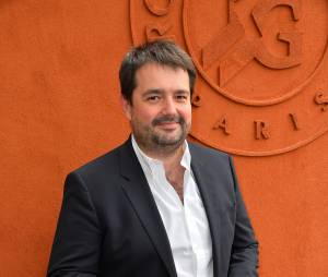 Jean François Piège à Roland Garros, le 29 mai 2015
