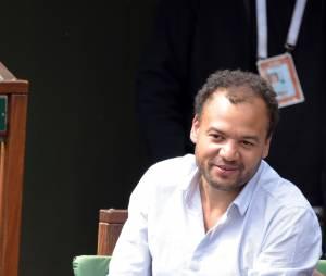 Fabrice Eboué à Roland Garros, le 29 mai 2015