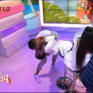 Capucine Anav embrassée par surprise par Vivian dans le Mag de NRJ12 (vidéo)