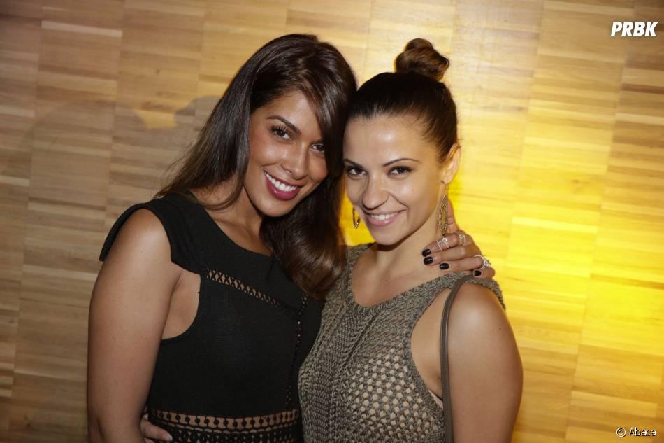 Ayem Nour et Denitsa Ikonomova à la soirée du concours Orange des Jeunes Designers le 4 juin 2015 à Paris